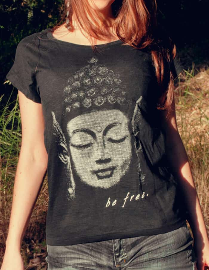 buddha t-shirt woman
