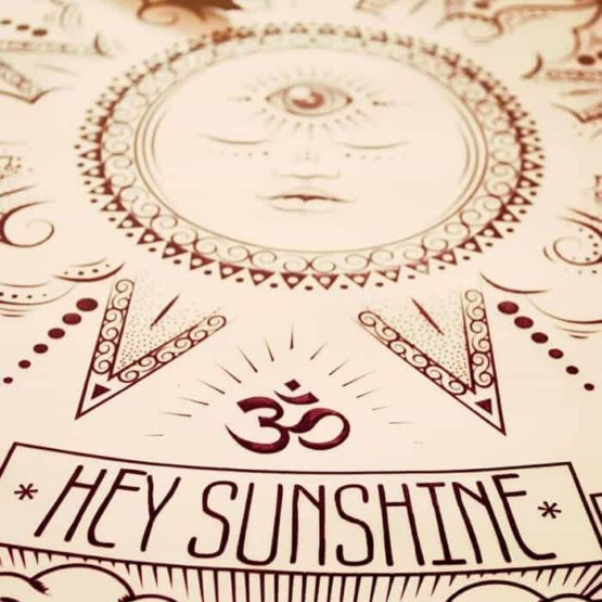 hey sunshine drawing
