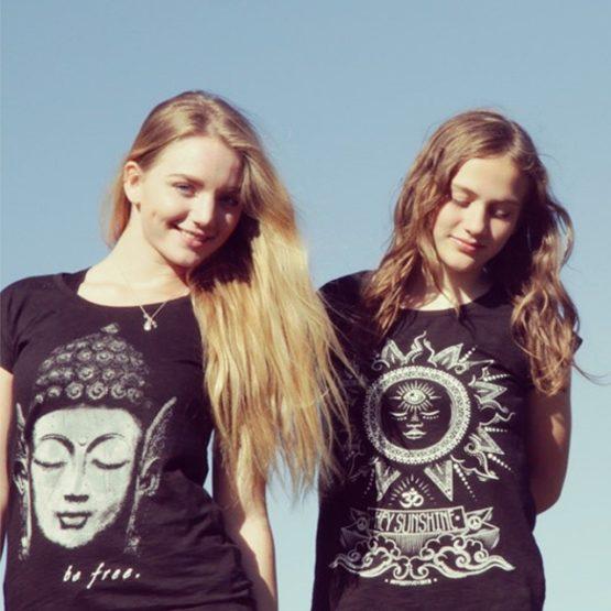 Agi K hey sunshine t-shirt positive vibes