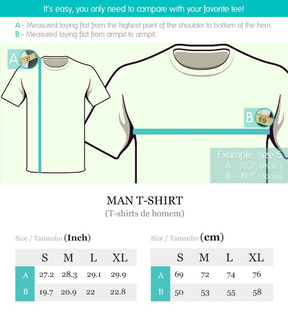 Sizing Guide - Woman Tees