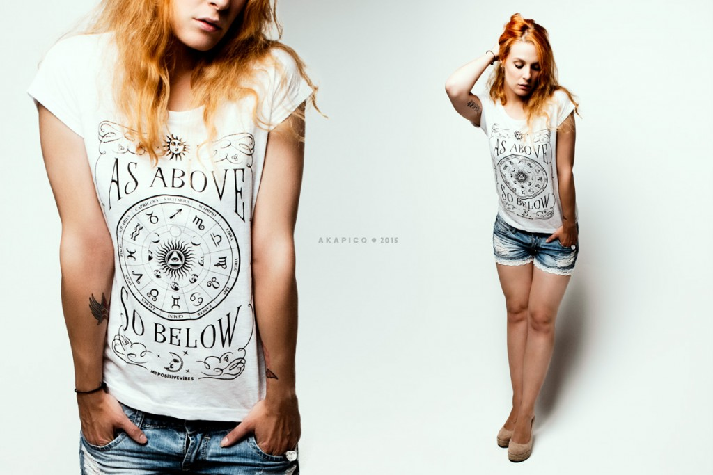 as above so below tshirt zodiac astrology