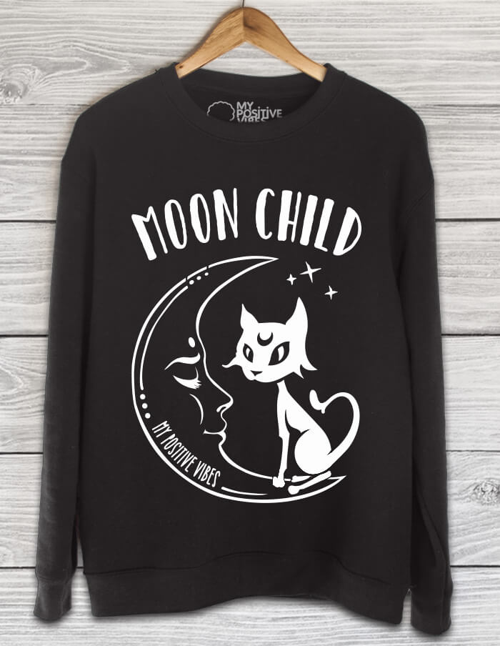 moon child black sweater