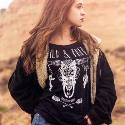 wild-and-free-boho-bohemian-cow-skull-tshirt-hippie