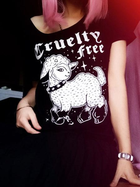 vegan tshirt cruelty free black vegan shirt veganism