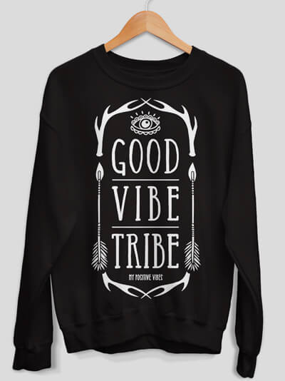 good vibe tribe sweatshirt