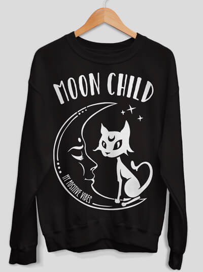 moonchild sweatshirt moon child sweater