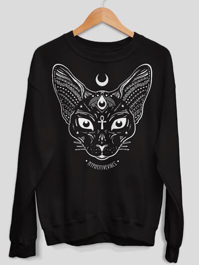sphynx sweatshirt cat sweater