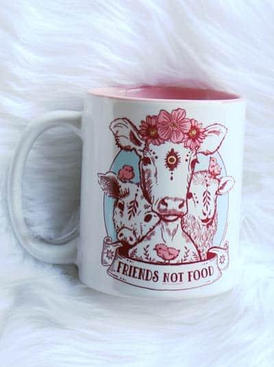 Vegan Mug – Friends not Food